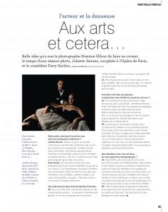 "Magazine ""Edgar"" avec Davy Sardou"